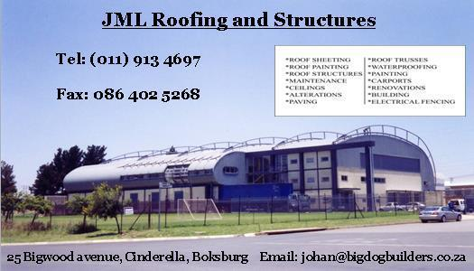 Big Dog Builders t/a JML Roofing and Structures