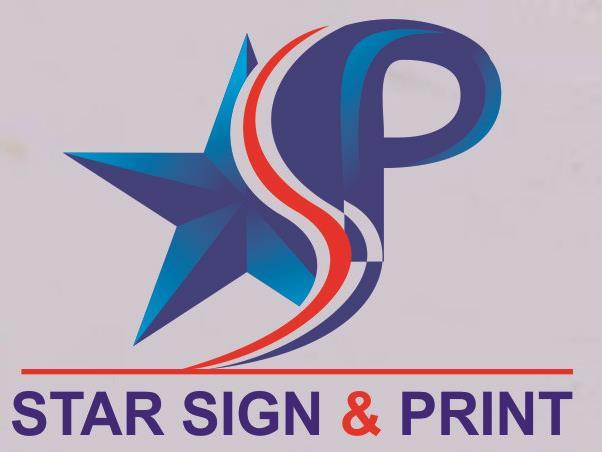 Star Sign and Print